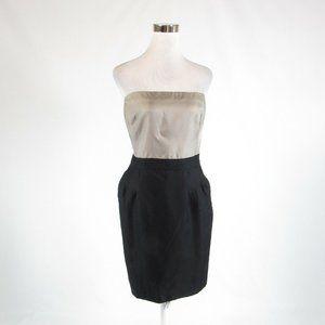 Black taupe BANANA REPUBLIC sheath dress 14
